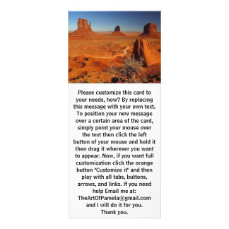 Monument Valley 1 Rack Card