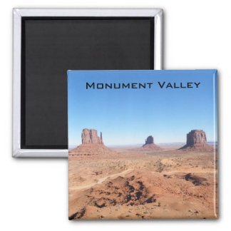 Monument Valley 2 Inch Square Magnet