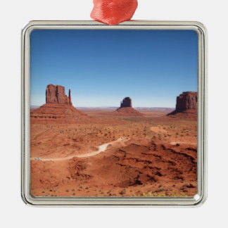 Monument Valley 3 Metal Ornament