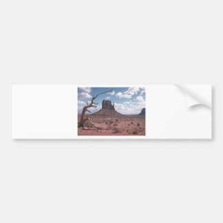 Monument Valley 9 Car Bumper Sticker