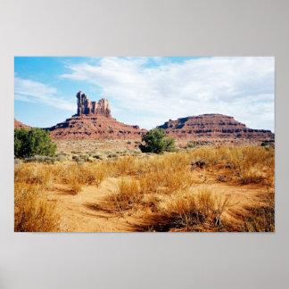 Monument Valley, Arizona 10 Poster