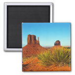 Monument Valley, Arizona 2 Inch Square Magnet