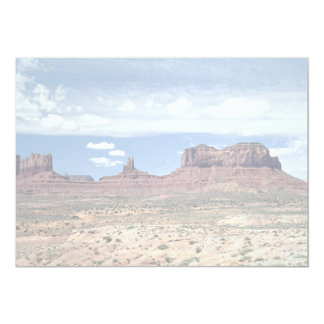 Monument Valley, Arizona, U.S.A. 5x7 Paper Invitation Card