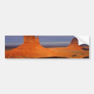 Monument Valley Car Bumper Sticker