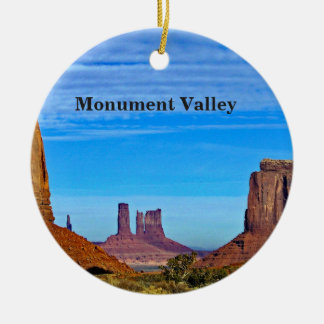 Monument Valley Ceramic Ornament