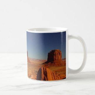monument valley classic white coffee mug