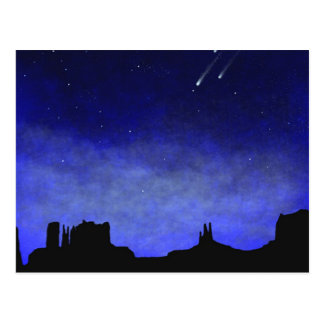 Monument Valley Glow in the Dark Wall Mural Postcard