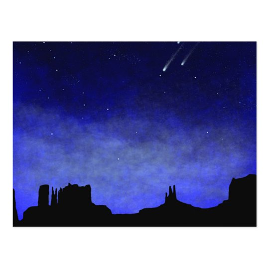 Monument Valley Glow In The Dark Wall Mural Postcard Zazzlecom