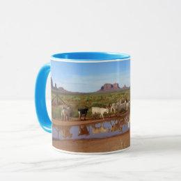Monument Valley Goats Mug