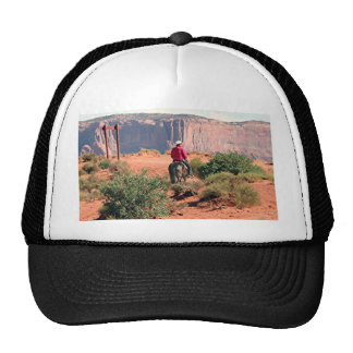 Monument Valley horse and rider, Utah, USA Trucker Hat