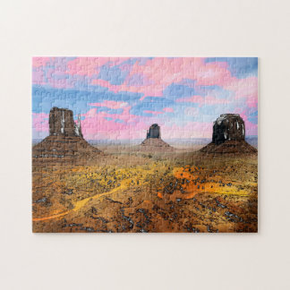 Monument Valley Jigsaw Puzzle