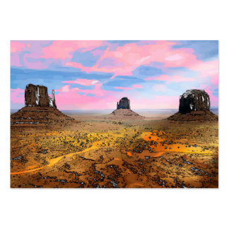 Monument Valley Large Business Card