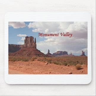 Monument Valley, Mitten, Utah, USA, 3 (caption) Mouse Pad
