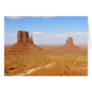 Monument Valley Mittens Photograph Card
