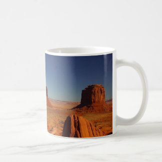 monument valley classic white coffee mug