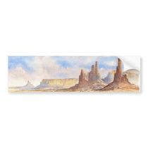 Monument Valley National Park Bumper Sticker