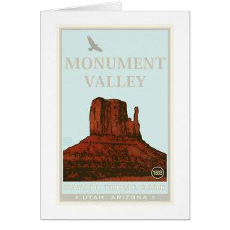Monument Valley Navajo Tribal Park Card