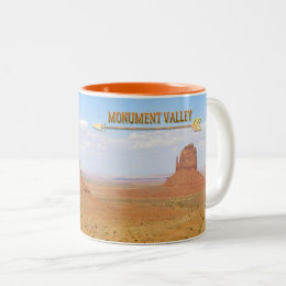 Monument Valley Navajo Tribal Park Two-Tone Coffee Mug