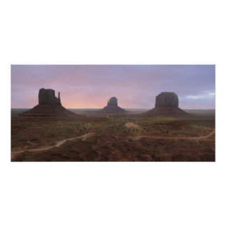 Monument Valley Panorama Print