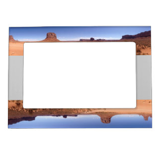 Monument Valley panoramic photo Photo Frame Magnets