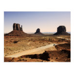 monument Valley Post Card