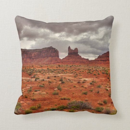 Monument Valley Print Pillow