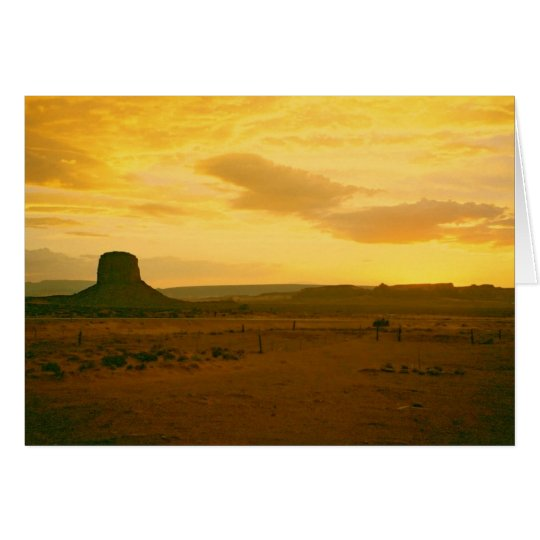 Monument Valley scene 01 Card