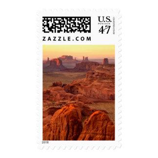 Monument valley scenic, Arizona Postage