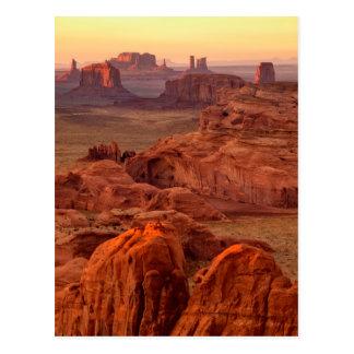 Monument valley scenic, Arizona Postcard