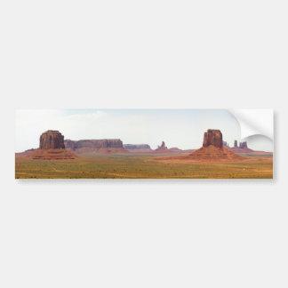 Monument Valley seen from Artist Point Arizona Bumper Sticker