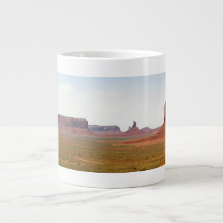 Monument Valley seen from Artist Point Arizona Giant Coffee Mug
