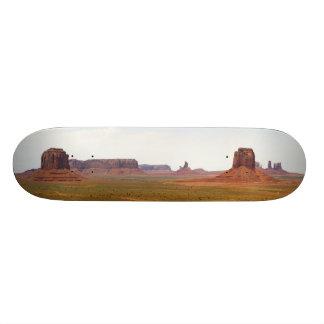 Monument Valley seen from Artist Point Arizona Skateboard