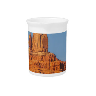 monument valley setting hen monument beverage pitchers