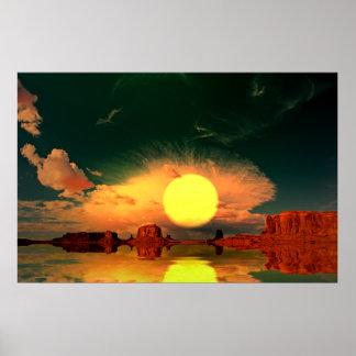 Monument-Valley-Sunrise-2 Poster
