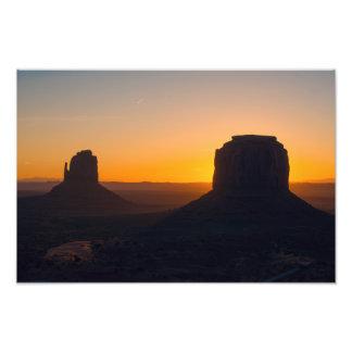 Monument Valley Sunrise Photo Print