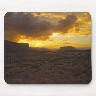 Monument Valley Sunset Mouse Pad