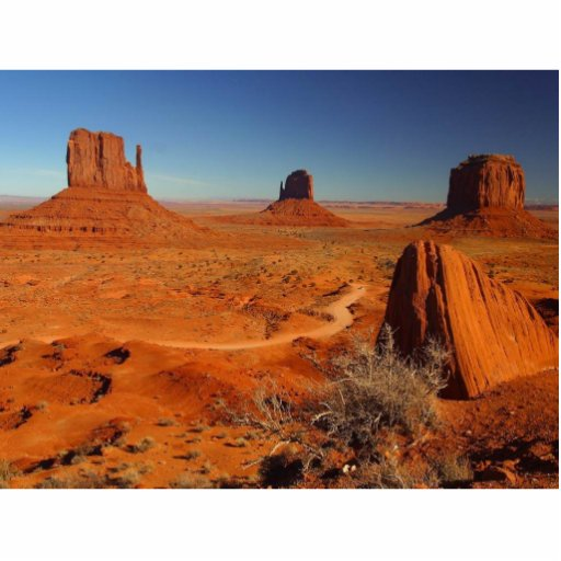 Monument Valley Towers Acrylic Cut Outs