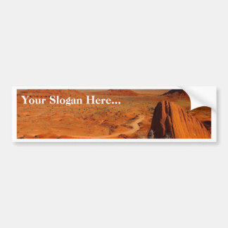 Monument Valley Towers Car Bumper Sticker