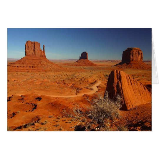 Monument Valley Towers Card