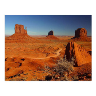 Monument Valley Towers Postcard