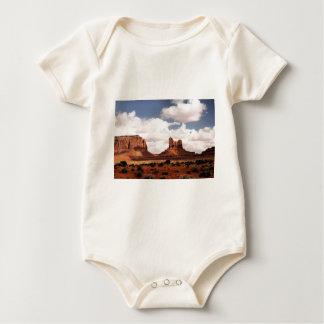 Monument Valley, UT Baby Bodysuit