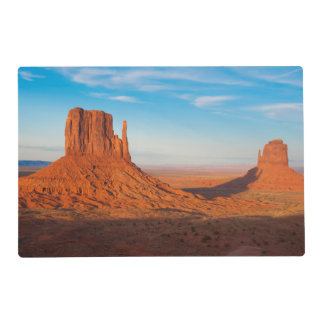 Monument Valley Utah desert mittens in panoramic Placemat