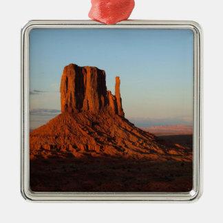 Monument Valley Utah Desert Rock Formation Metal Ornament