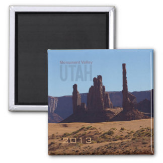 Monument Valley Utah State Souvenir Fridge Magnets