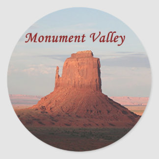 Monument Valley, Utah, USA 6 (caption) Stickers