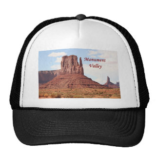 Monument Valley, Utah, USA 7 (caption) Trucker Hat