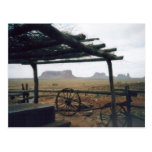 Monument Valley View Post Card