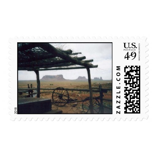 Monument Valley View Postage