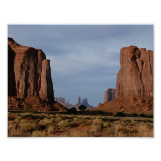 Monument Valley Window poster