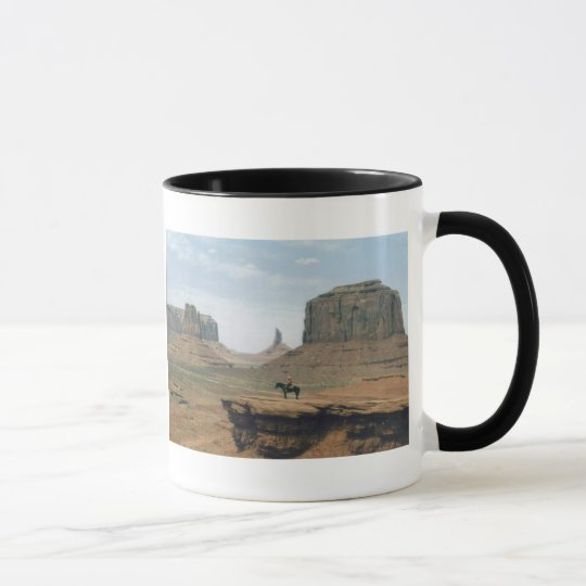 Monument Valley with Cowboy Mug